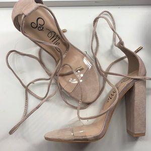 Nude Heels from Fashion Nova
